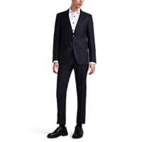 Lanvin Attitude Wool Cashmere Flannel Two Button Suit Gray