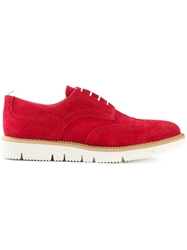Pulchrum 'Andrea Low Gloxy Cut' Brogue Shoes Red
