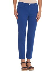 Betty Barclay Sally Four Pocket Cropped Jeans Electric Blue