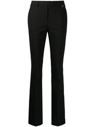 Twin Set Slim Fit Tailored Trousers Black