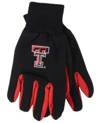 Forever Collectibles Texas Tech Red Raiders Palm Gloves