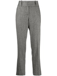 Ermanno Scervino Classic Tailored Trousers Black