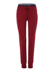 Tommy Hilfiger Fitness Pants Burgundy