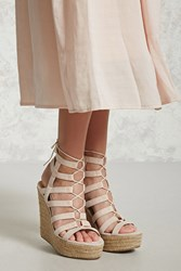 Forever 21 Faux Suede Espadrille Wedges