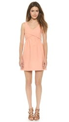 4.Collective Cross Wrap Flirty Dress Sandy Pink