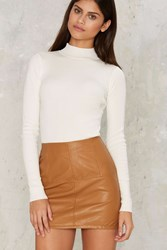 Make Mine Mod Mini Skirt Orange