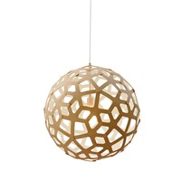 David Trubridge Coral Light Natural White 100Cm