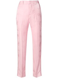 Zadig And Voltaire Pomelo Jac Paisley Trousers Pink