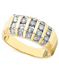 Macy's Men's Diamond Ring In 14K Gold 1 Ct. T.W.