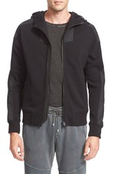 Belstaff Men's Blakenham Mixed Media Full Zip Hoodie