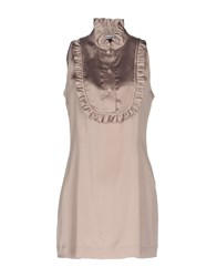 Caliban Short Dresses Light Purple