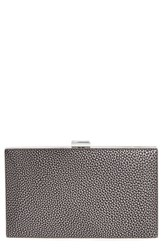 Sondra Roberts Metallic Frame Clutch Black