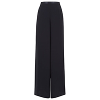 Jacques Vert Monique Wide Leg Chiffon Trousers Monique