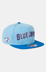 American Needle 'Blue Jays' Snapback Baseball Cap Light Blue Royal