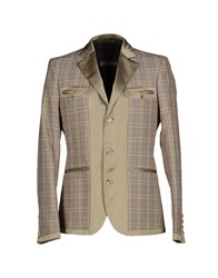 Galliano Suits And Jackets Blazers Men Dove Grey