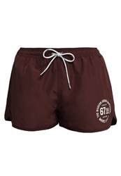 Marc O'polo Solids Swimming Shorts Havanna Dark Red