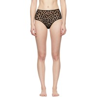 Le Petit Trou Black Desir High Waisted Briefs
