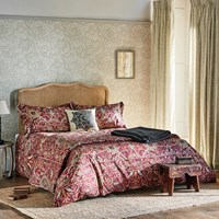Morris And Co Bullerswood Duvet Cover Paprika Red