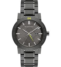 Burberry Bu9340 Gunmetal Watch Silver