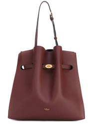 Mulberry Top Handles Shoulder Bag Women Leather One Size Red