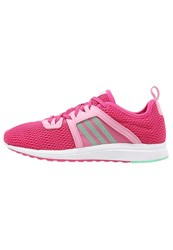 Adidas Performance Durama Cushioned Running Shoes Pink Green Glow Semi Pink Glow