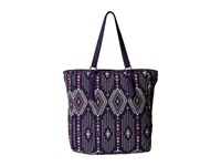 Roxy Boho Party Tote Geo Carpet Combo Eclipse Tote Handbags Purple