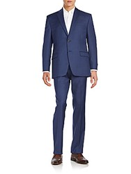 Lauren Ralph Lauren Regular Fit Wool Suit Navy