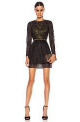 Sass And Bide 110 Percent Poly Dress In Black