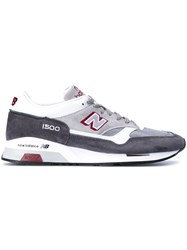 New Balance 1500 Made In The Uk Sneakers Men Leather Nylon Polyester Rubber 41.5 Grey