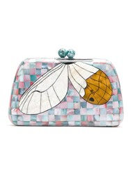 Serpui Mother Of Pearl Clutch Multicolour
