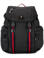 Gucci Techno Canvas Backpack Black