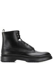 Hugo Boss Lace Up Ankle Boots Black