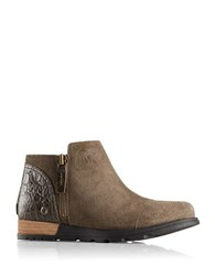 Sorel Major Low Leather Boots Brown