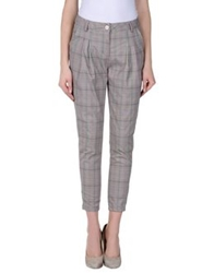 Baci And Abbracci Casual Pants Grey