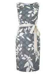 Precis Petite Grey Clipse Spot Dress