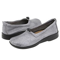 Arcopedico New Queen Ii Pewter Women's Slip On Shoes