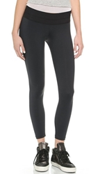 Blue Life Fit Silhouette Leggings Black