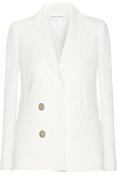 Barbara Casasola Double Breasted Effect Crepe Blazer