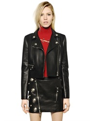 Versus Nappa Leather Jacket