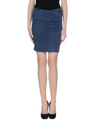 Twin Set Jeans Skirts Knee Length Skirts Women