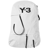 Y 3 Bungee Backpack White