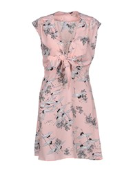 Care Of You Short Dresses Pink