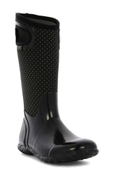 Bogs Women's 'North Hampton' Waterproof Rain Boot Black Multi
