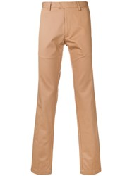 Doppiaa Classic Chinos Nude And Neutrals