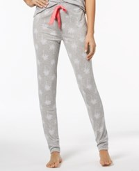 By Jennifer Moore Printed Jogger Pajama Pants Created For Macy's Palm Tree
