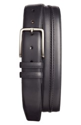 Mezlan Men's Leather Belt Graphite