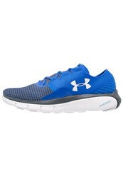Under Armour Speedform Fortis 2 Cushioned Running Shoes Ultra Blue White Glacier Gray