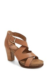 Sofft Women's Canita Block Heel Sandal Sand Leather