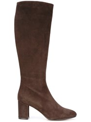 Jean Michel Cazabat Knee Length Boots Brown