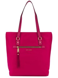 Marc Jacobs 'Trooper' Tote Bag Women Nylon Polyurethane One Size Pink Purple